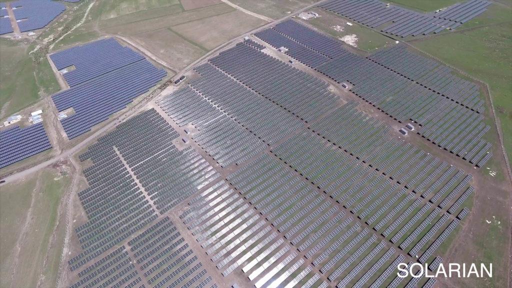 Doğan Holding - Galata Wind Enerji'nin Erzurum Aziziye GES Santrali