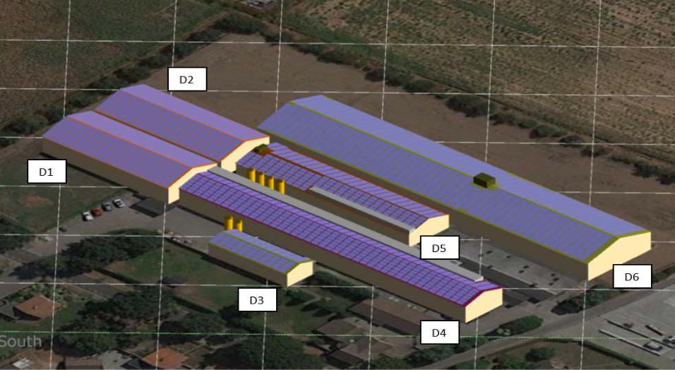 Çatı tipi güneş enerjisi santrallerinde çatıya panel yerleştirilmesi