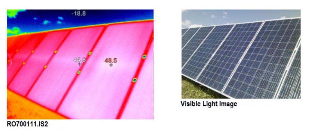 Çatı tipi güneş enerjisi yatırımlarında termal testlerin gerçekleştirilmesi