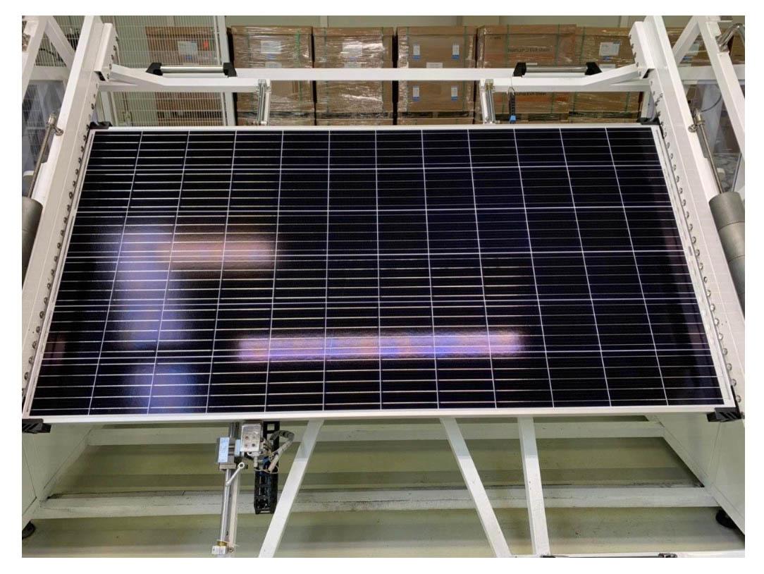 Güneş paneli üretim fabrikası denetimi